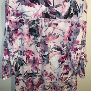 Pintuck Blouse from Chaus New York